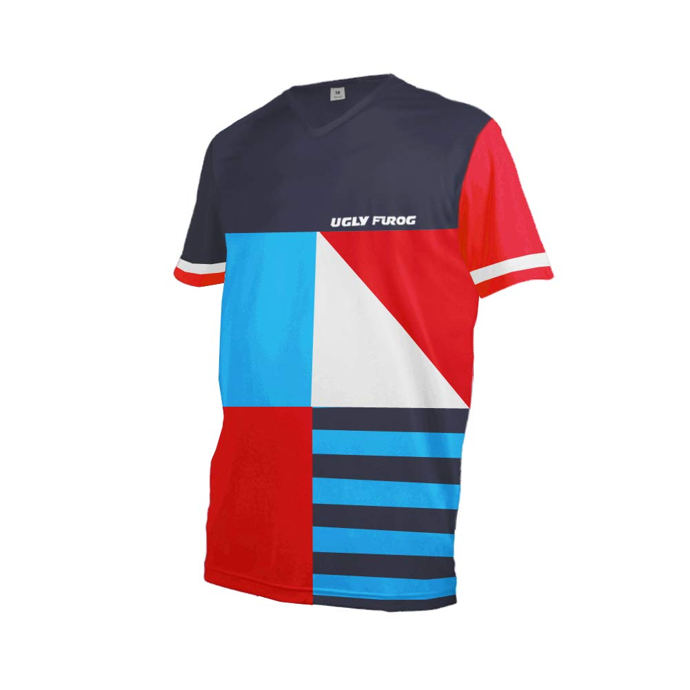 Uglyfrog 2019 Racewear Jersey MTB//Downhill Cycling Jersey Bici Team Maniche Lunghe//Corta DH Maglia Motocross Offroad Shirt HIDownhillF01