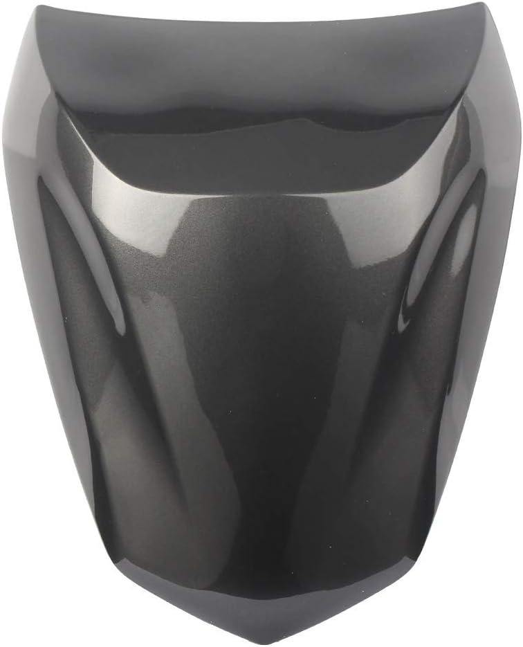 GZYF Motorbike Rear Passenger Pillion Seat Cowl Fairing Cover FitsKawasaki NINJA 650(ER6F/ER6N) 2012-2016, Grey