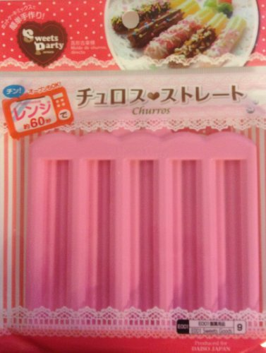 Japanese Microwave Mini Churro Maker Pan for Bento