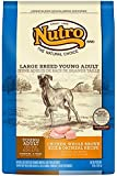 NUTRO Large Breed Young Adult Chicken, Whole Brown Rice and Oatmeal Dog Food, 30 lbs.