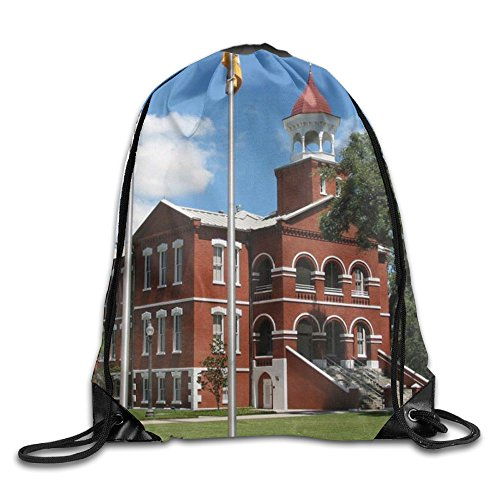 Men Women Kissimmee-Osceola County Florida Lightweight Water Resistant Beam Port Runner Teamsport Formation String Bags Gymsack Gym Drawstring Bags Sackpack - Kissimmee Shopping