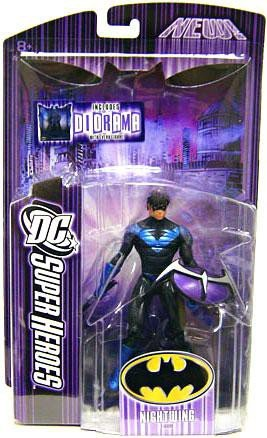 DC Super Heroes Mattel Select Sculpt Series 6 Action Figure Nightwing by Mattel