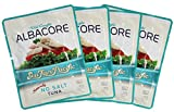 No Salt Albacore Tuna – Sea Fare Pacific, 4 Pack, wild caught sustainable, 100% traceable to USA family owned fishing boats, pole and line, once cooked in it's own natural fish oil excellent Omega3's.