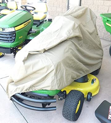"Riding Lawn Mower / Tractor Cover - 74""Lx44""Wx38""H"
