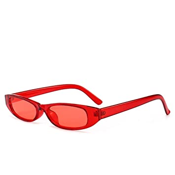 QZHE Gafas de sol Gafas De Sol Rectangulares Gafas De Sol ...