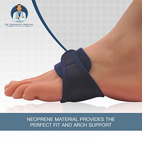 Dr. Frederick's Original Arch Support Brace Set - Two Orthotic Insole Wraps for Plantar Fasciitis and Flat Feet - Fast Relief of Foot Pain by Dr. Frederick's Original (Image #5)