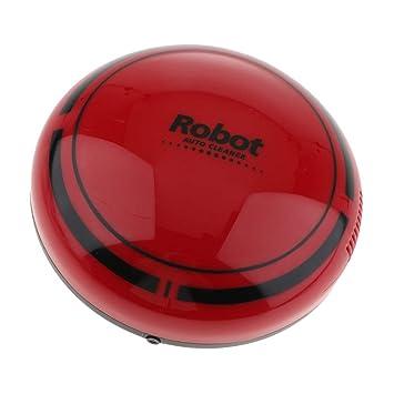 Sharplace Aspirador Robot Barrido Inteligente Eléctrico Automático Larga Vida Útil Gran Salida de Succión Reducción - Rojo: Amazon.es: Hogar