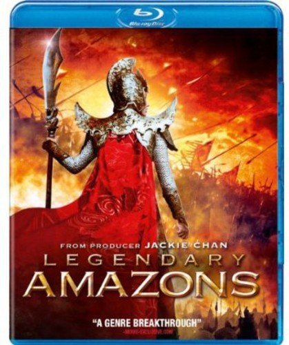 legendary amazons blu ray - 1