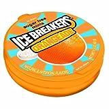 Ice Breakers Orangeade Sugar Free Mints 1.5 Oz Tins (Pack of 12)