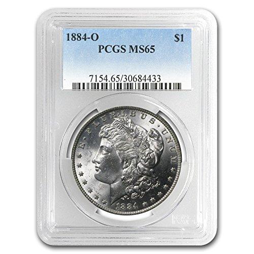 1884 O Morgan Dollar MS-65 PCGS $1 MS-65 PCGS