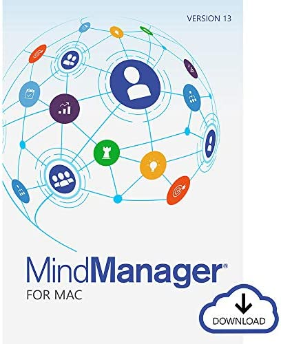 Corel MindManager for Mac 13 | Mind Mapping & Visual Work Management Software | Brainstorming, Project Management, Flowcharting & More [Mac Download]