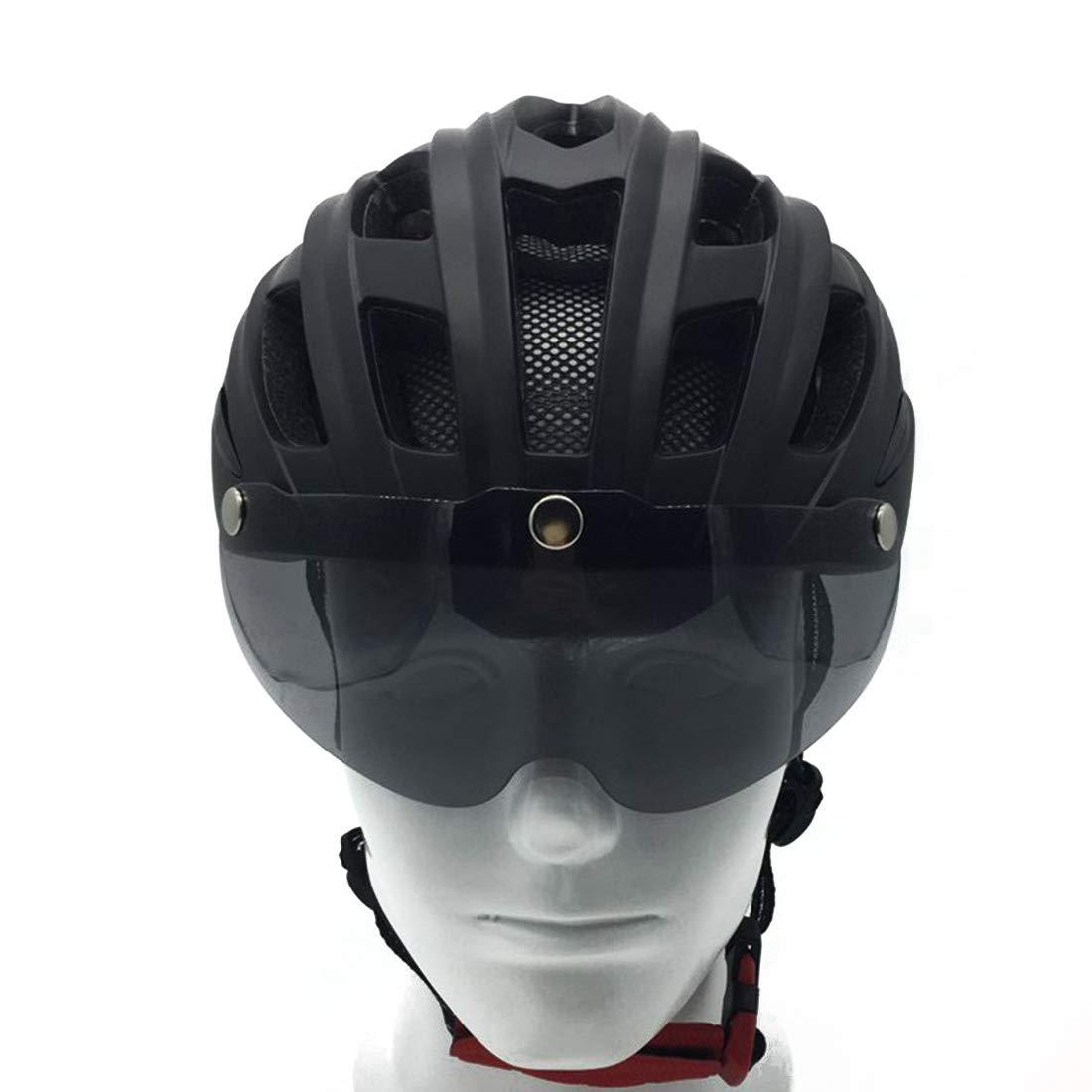Dhrfyktu Erwachsener Fahrradhelm Fahrrad Reithelm Fahrrad Schutzhelm Geeignet für Outdoor-Radsportler.