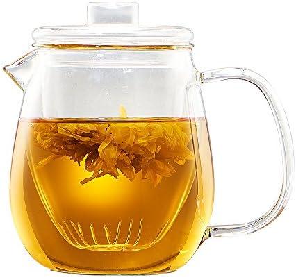 WarmCrystal Borosilicate Teapot Infuser Domestic