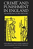 img - for Crime And Punishment In England: An Introductory History book / textbook / text book