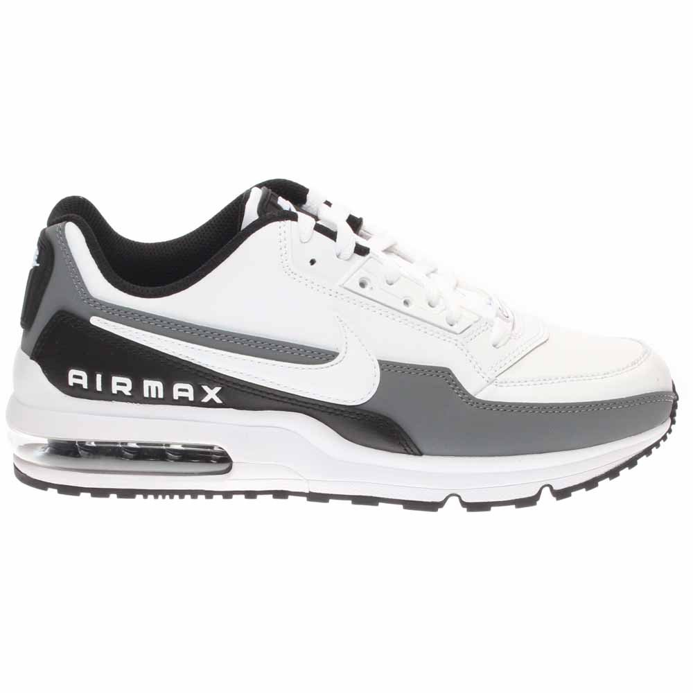 best service 635f6 3b921 Galleon - Nike Mens Air Max LTD 3 Running Shoes White Black Cool Grey 687977 -105 Size 11.5