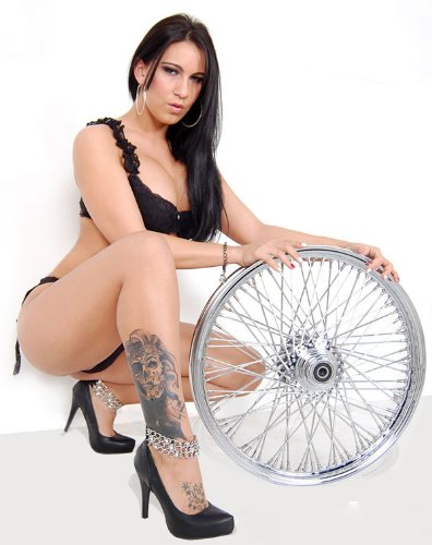 60 Spoke Motorcycle Wheels - 1