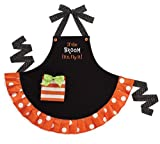 "Halloween Apron with ""If The Broom fits, Fly It"" Adult Size Apron"