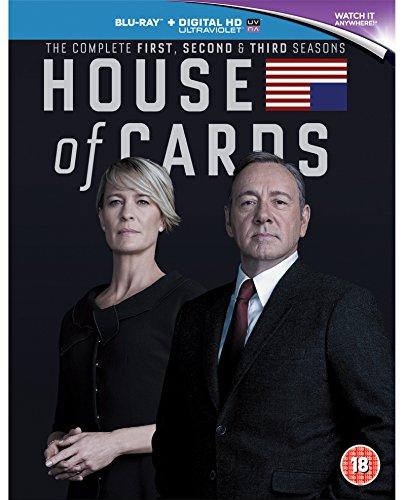 House of Cards - Season 1-3 [Blu-ray]