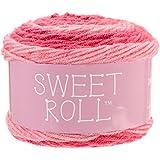 Premier Yarns 1047-03 Sweet Roll Yarn-Pink Swirl