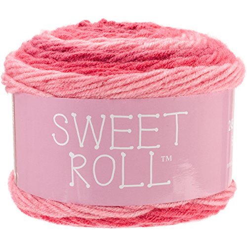 Premier Yarns 1047-03 Sweet Roll Yarn-Pink Swirl by Premier Yarns