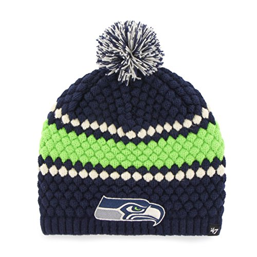 b0ca5c61a Seattle Seahawks Women s Pom Beanie – Football Theme Hats
