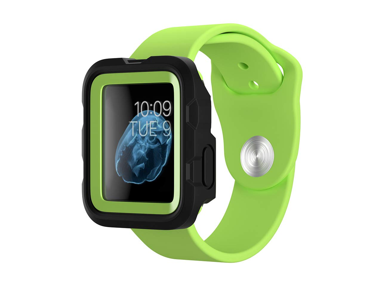 Griffin Survivor Tactical Case for Apple Watch 38mm, Green by Griffin Technology