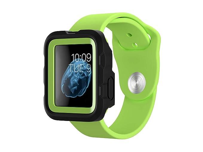 san francisco 7517d 169c1 Griffin Survivor Tactical Case for Apple Watch 38mm, Green