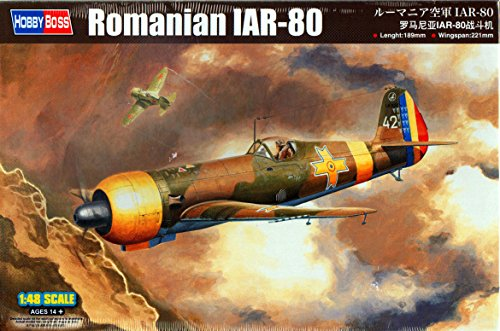 1:48 Hobbyboss Romanian Iar-80 Aircraft Model Kit