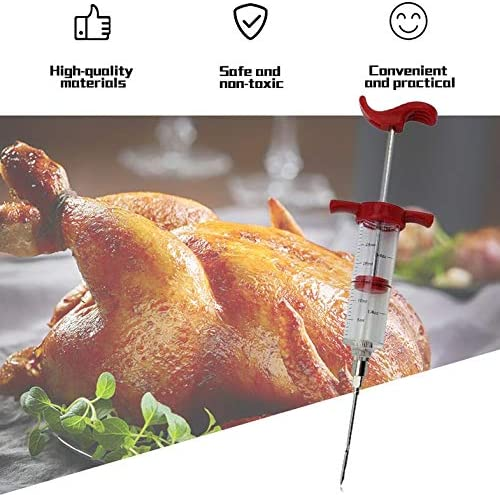 ShiZheng Barbecue a Base di Carne marinata siringa iniettore Pollame Turchia Pollo Sapore Siringa Cucina Salsa iniezione dellattrezzo degli Accessori da Cucina