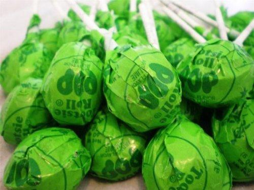Tootsie Pops Lemon Lime 60 pops