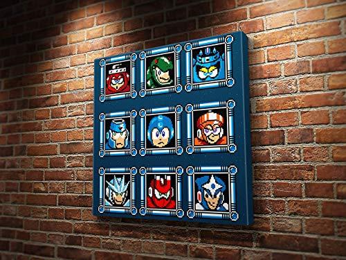Mega Man Boss Selection
