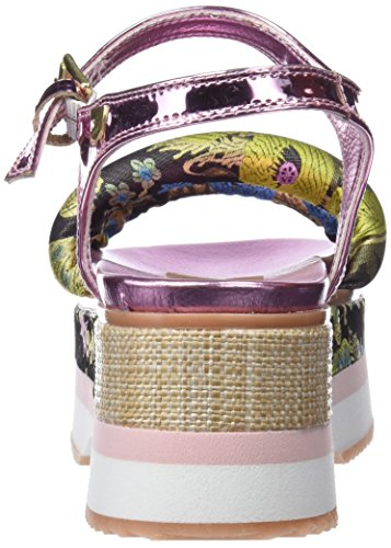Multicolore Femme Ouvert Marrón Sandales Gioseppo Bout ros 43366 UX1fI