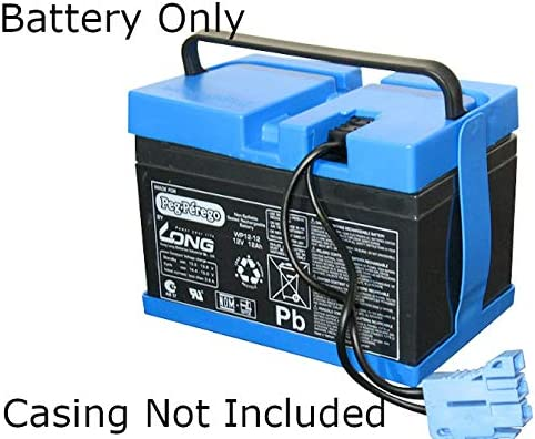 Replacement 6v4.5ah Rechargeable Battery Compatible with Peg Perego John Deere W//O Case 6v 4.5ah