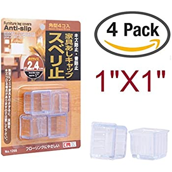 16 Pcs Japan Quality Rectangular Square Floor Protector