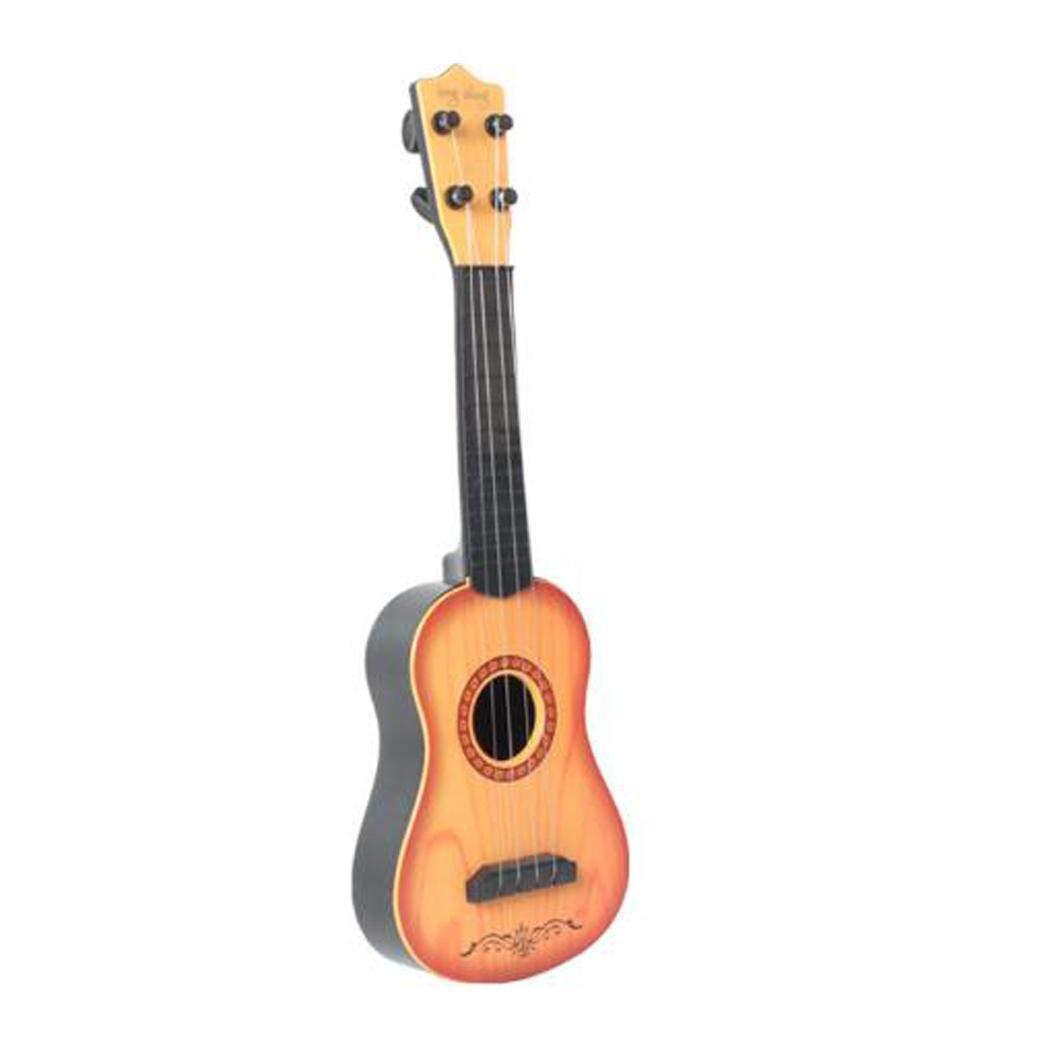 BiuKen Baby Musical Instrument Toy Children Funny Ukulele Guitar Educational Toys Guitars & Strings by BiuKen