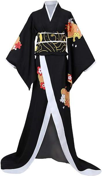 Amazon.com: Demon Slayer Cosplay Costume Kimetsu no Yaiba ...