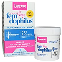 Jarrow FEM Dophilus for Women, 30 Vcapsules (Pack of 2)