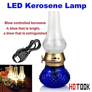 Blowing control nostalgic energy-saving LED lamp kerosene lamps adjustable brightness characteristics of creative gifts
