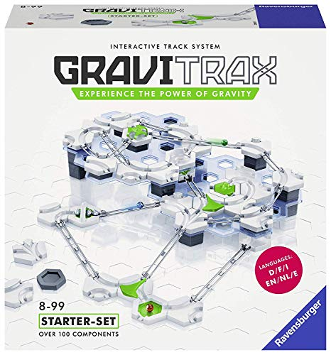 Marble Building Kit - Ravensburger GraviTrax Marble Run and STEM Toy for Boys and Girls Age 8 and Up - 2019 Toy of the Year Finalist