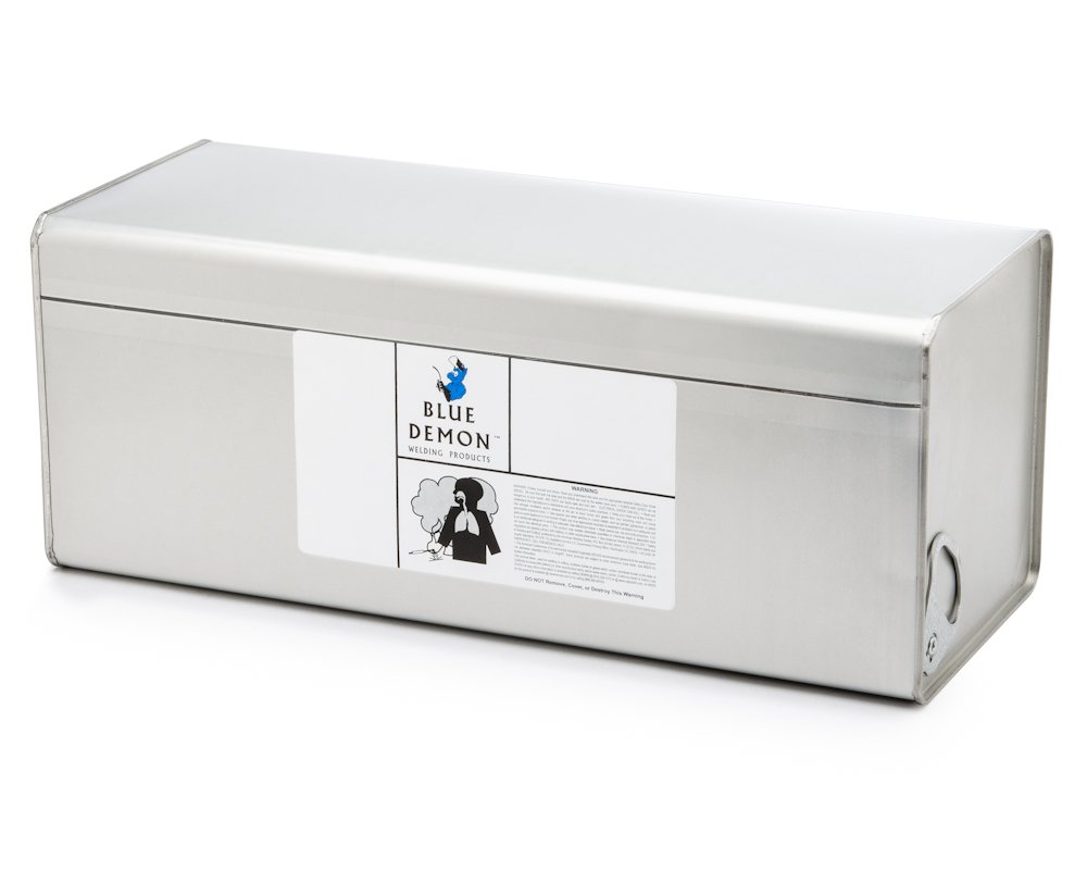 Blue Demon 7018 X 3/32'' X 14'' X 50# Can Low Hydrogen Carbon Steel Electrode
