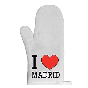 Mygoodprice guante de cocina manopla I Love Madrid