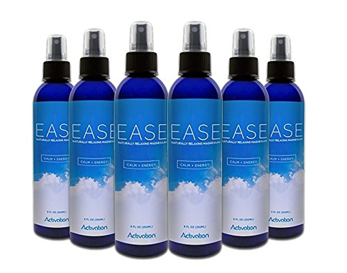 Activation Products, Magnesium Spray, Magnesium Deficiency, Joint and Muscle Pain, Leg Cramps, Eases Restless Legs 6Bottle Ct by Activation Products