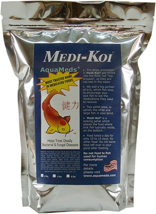Medi-koi Medicated Fish Food 4 Lb (Fish Food Koi compare prices)