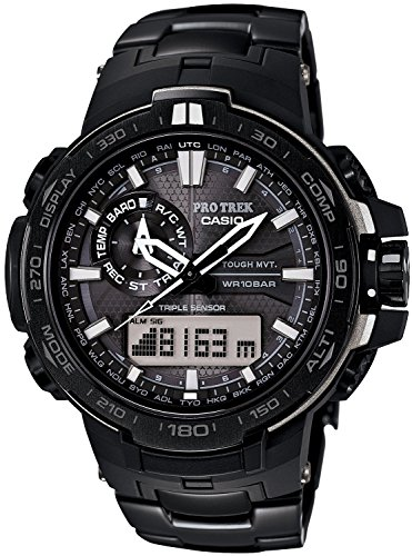 CASIO watches PROTREK BLACK TITAN LIMITED world six stations radio waves corresponding Solar Watch PRW-6000YT-1JF Men's