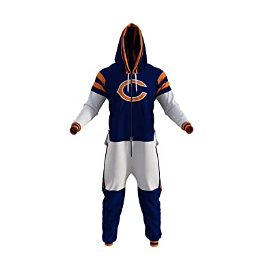 separation shoes 05896 67045 Chicago Bears NFL Adult Onesie by Sportsedo The Makers of Hockey Sockey