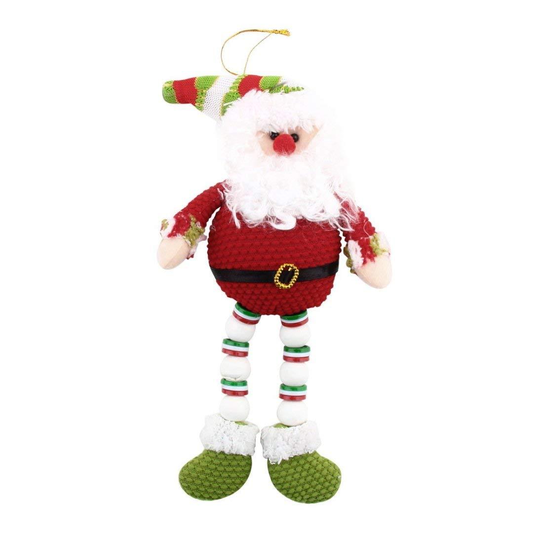 Swiftswan Weihnachten Weihnachten Santa Ornament Decoration hängen Schneemann Bär Hirsch Toy Doll