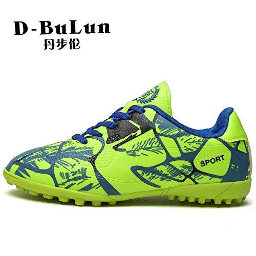 Xing Lin Zapatos De Fútbol El Muelle Nuevo Fútbol Zapatos Antideslizantes De Estudiantes Jóvenes Muchachos Y Muchachas Uña Rota Las Zapatillas De Entrenamiento green