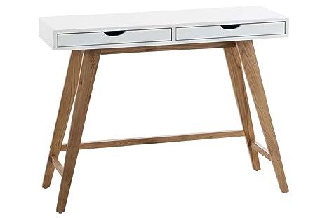 Songmics tavolo da toletta moderno set di bellezza di legno con