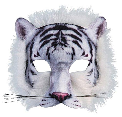 Forum Novelties 3D Print Costume Half Mask: White Tiger]()