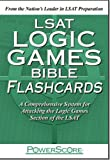 The PowerScore LSAT Logic Games Bible Flashcards (Powerscore Test Preparation)